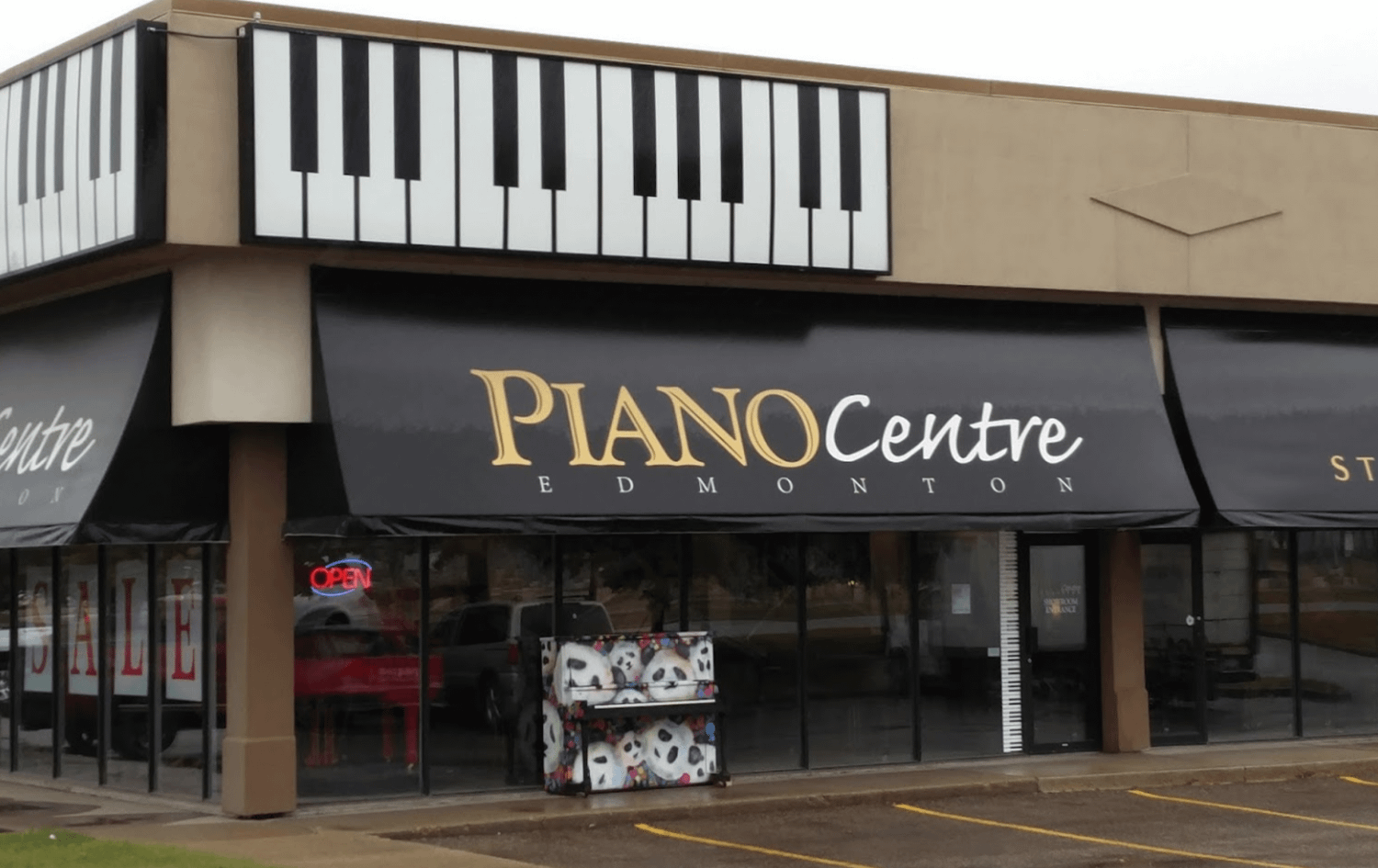 Piano Centre Store Front