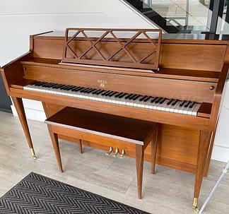 Bell piano midcentury piano